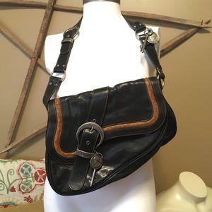 vintage dior saddle bag